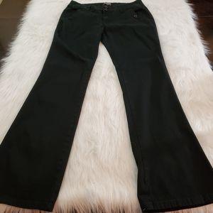 BeBop Sz 11 Juniors Black Bootcut Pants